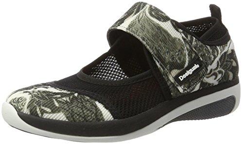 Desigual Damen Dub Xupi Sneakers Schwarz (black 2000)