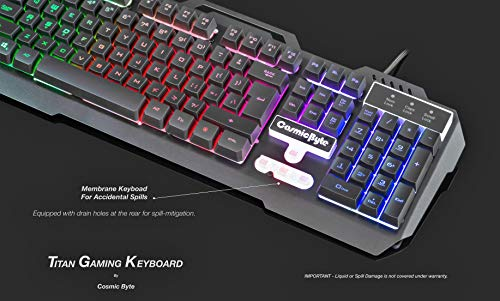 Cosmic-Byte-CB-GK-05-Titan-Wired-Gaming-Keyboard-with-Aluminum-Body-Rainbow-Backlit-Keycaps-Braided-Cable-Black