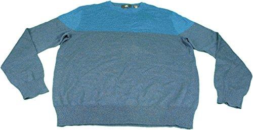 Calvin Klein Mens Size Medium Long Sleeve Pullover Sweater Rocking Green