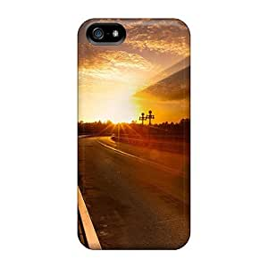For Iphone 5/5s Fashion Design On The Road Again Case-PLVCbFH7984sfCFc