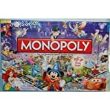 Disney Monopoly Game 3rd Edition (AGES 8 AND UP) by Disney