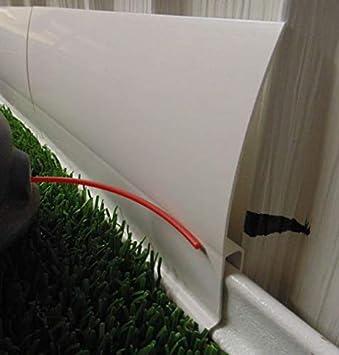 Protector de falda para soporte de vinilo para el hogar móvil de 4 ...