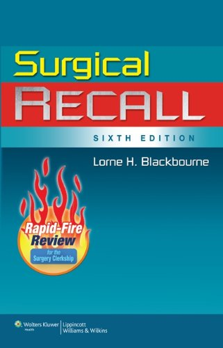 Surgical Recall, 6th Edition  (Recall Series)