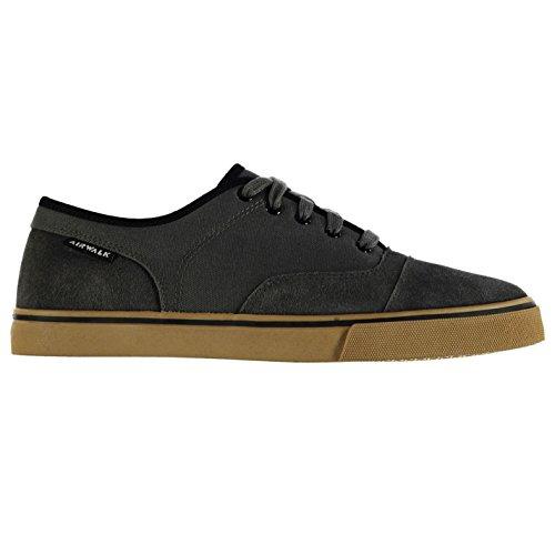 Airwalk Tempo Leinwand Skate Schuhe Herren Grau sportschuhe Sneakers Schuhe