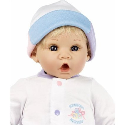 Newborn Nursery - Little Sweetheart - Blonde Hair, Blue Eyes by Lee Middleton Dolls