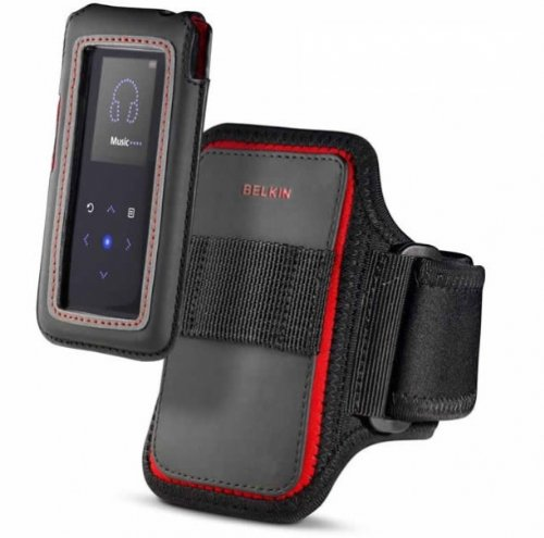 Belkin Gym Workout Sports Armband Case with Detachable Pouch fits iPOD NANO 4th Gen 4 // 4G Generation