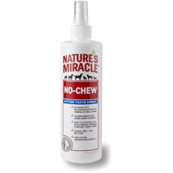 Nature's Miracle No-Chew Bitter Taste Spray, 16-Ounce (P5770)