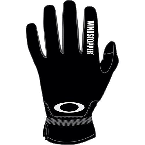Oakley Men's Core Windstopper Glove, Black, Large