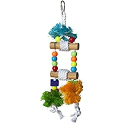 Prevue Pet Products Tropical Teasers Blue Hawaii Bird Toy, Multicolor