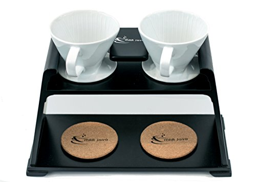 MAR Java Duo Pour Over Coffee Stand ()