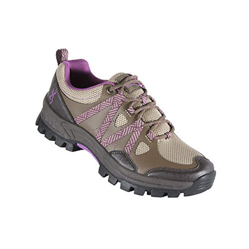 Brown Shoes Women's 8 Purple Browning Size 6 Trail Glenwood Ignwq