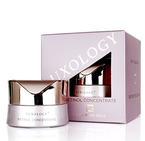Luxology Retinol Night Cream w/ 24KT Rose & Caviar for Wrink