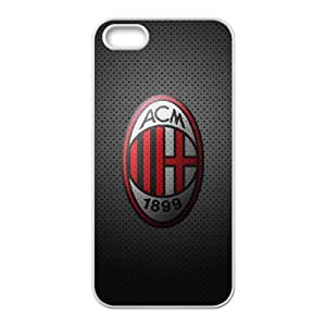 iPhone 4 4s Cell Phone Case White AC Milan Football ztm