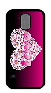 FSKcase? Flowers of love Hard PC case for samsung galaxy s5 for girls