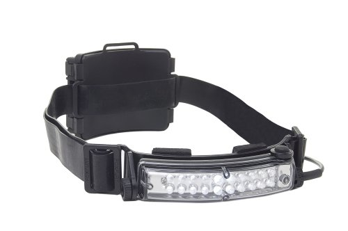 FoxFury 420-009RS Command 20 Tasker S Rechargeable LED Helmet Light with Silicone and Elastic Strap, 60 Lumens by FoxFury