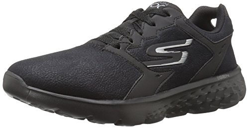 Skechers Go Run 400 Motivate, Chaussures Multisport Outdoor Femme Noir (Black)