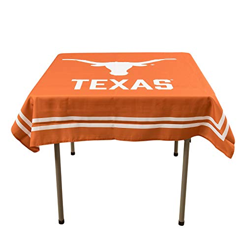 - College Flags and Banners Co. Texas Longhorns Logo Tablecloth or Table Overlay