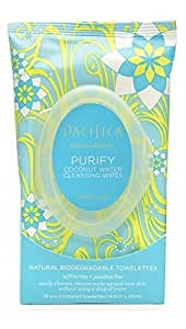 Pacifica Purify Coconut Water Cleansing Wipes - 30 ct