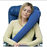 ELEGENCE-Z Travel Pillow - Inflatable Pillows for Ergonomics - Sleep Faster - Sleep Faster and Sleep More Long - 90X28CM