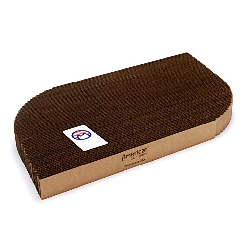 (Americat Company Cat Scratcher and Lounger - Made in The USA - XL, Reversible, Heavy, Designed to Last - Rectangular Shape)