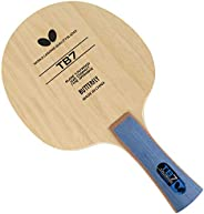 Butterfly TB7 FL Table Tennis Blade - 7-ply All-Wood Blade - Fast Attacking Blade - Professional Butterfly Tab