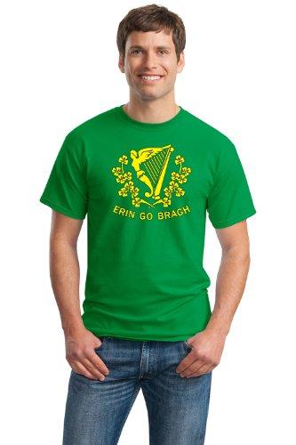 ERIN GO BRAGH Unisex T-shirt / St. Patrick Battalion Flag, Ireland Forever