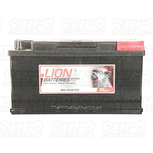 Lion MF58827 017 Car Battery 3 Years Warranty 88Ah 680cca 12V Electrical