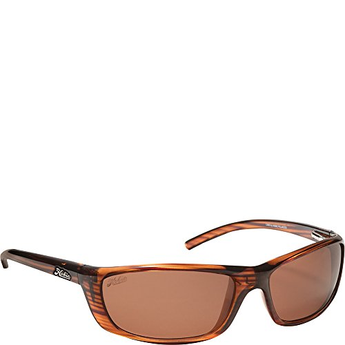 Copper Polarized Frame - Hobie Cabo Polarized Sport Sunglasses,Wood Grain Frame/Copper Lens,One Size