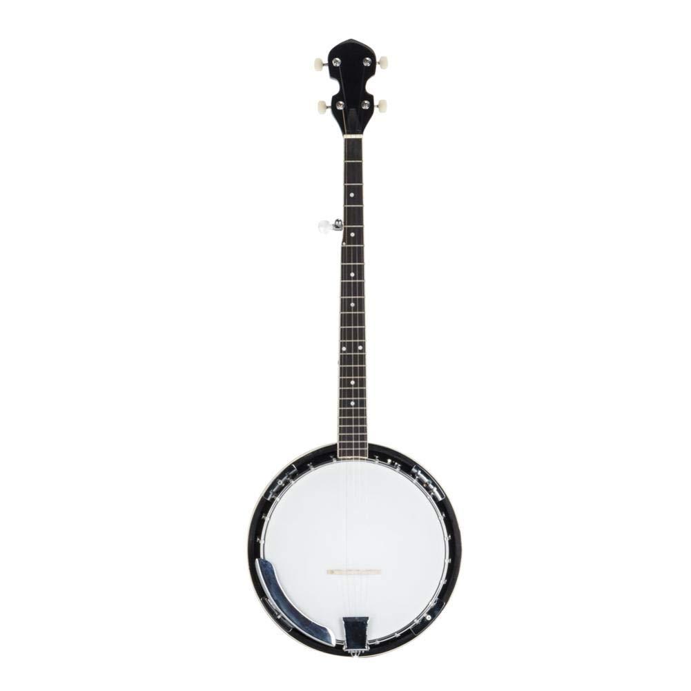 reakfaston 5-String Banjo Top Grade Exquisite Professional Wood Metal Banjo Kit