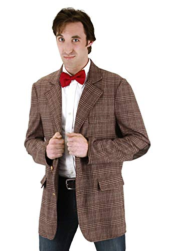 Doctor Who Costumes For Adults (Doctor Who Mens Jacket, MEN'S)