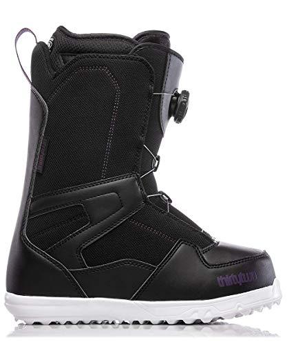 ThirtyTwo Shifty Boa Women's '18 Snowboard Boots, Black, 5