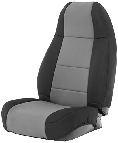 Smittybilt 471022 Neoprene Seat Cover Set - Jeep Cj Rear Seat