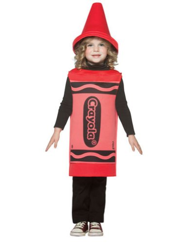 Toddler Red Crayon Costumes (Crayola Crayon Baby Infant Costume Red - Toddler)