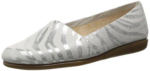 Aerosoler Kvinna Mr Softee Slip-on Loafer Zebra Kakel Läder