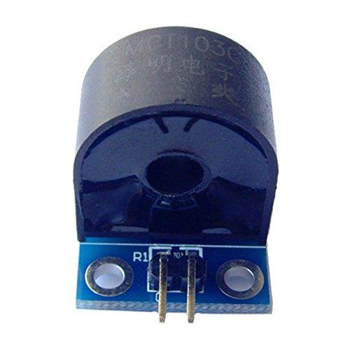 SODIAL(R) 2pcs Range 5A AC Current Sensor Module Single-Phase Current Transformer Module