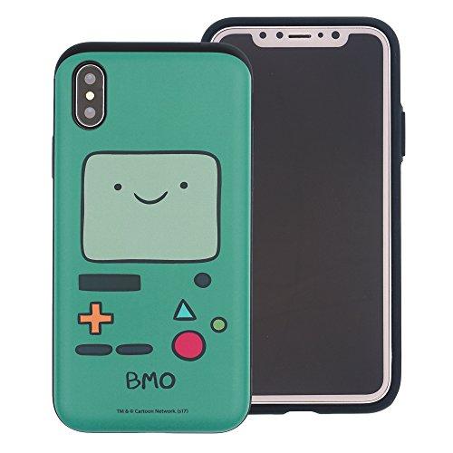 iPhone XR ケース Adventure Time Beemo (BMO) アドベンチャー タイム ダブル バンパー ケース/二層構造 TPUケース + PCカバー/デュアルレイヤー 耐衝撃 薄型 衝撃吸収/スマホケース おしゃれ 【 アイフォン XR ケース (6.1