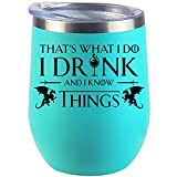 Game Of Thrones Gifts For Women Men Inspired Funny GOT House Lannister Birthday Fans Gift Wine Glass