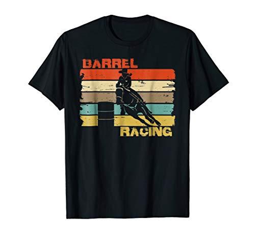 (BARREL RACING shirt. Cowgirl & Cowboy vintage barrels)