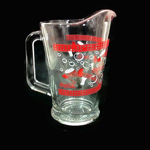 Vintage Coke Iced Tea Pitcher Coca Cola