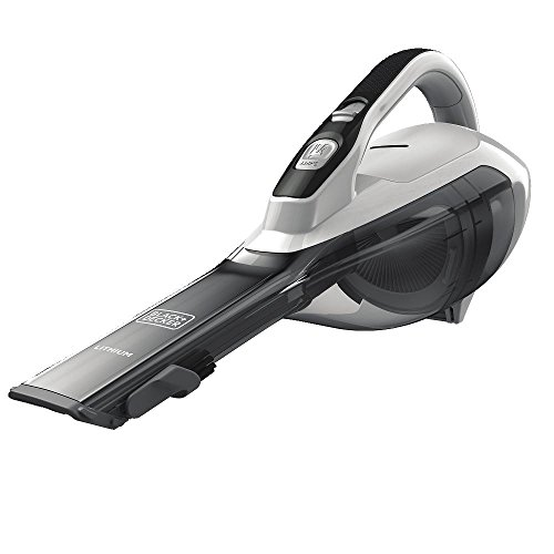 BLACK+DECKER HLVA325J10 Lithium Hand Vacuum 2.5 Ah, Powder White