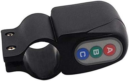 Kmtar Universal Design Bike Bicycle Cycling Security Waterproof Password Alarm Anti-Theft Lock Bike Accessories