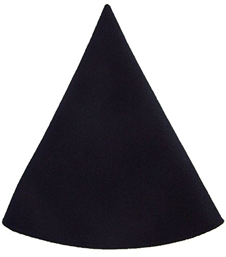 Red Gnome Hat Women's Costume Cap Wizard Black (Gnome Halloween Costume)