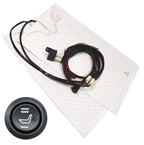 Auto seat Heated Car Seats Warmer Cover heater Seat pad heated seats retrofit kit Universal Heated seats round switch: