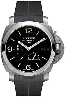 [ラバービー] RUBBERB PANERAI専用ラバーベルト【パネライ】ルミノール 1950 44mm(TYPE2)用ラバーバンド【ブラック×グリーン】※時計は付属しません(Watch is not included) [並行輸入品]