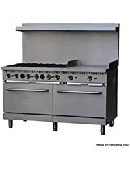 Comstock Castle R10 24 60 Wide Gas Range With Six Burners 24 Griddle