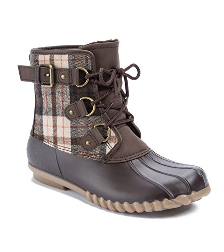 Baretraps Donna Fahn Snow Boot Dk Marrone Multi