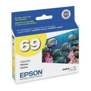 Epson DURABrite Ultra Original Ink Cartridge Model T069420 (Epson 69 Print Cartridges)