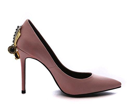 Mujer Talla Color Rosa 5 Sandalias 35 Miyoopark Con Cuña vxwScTY4tq
