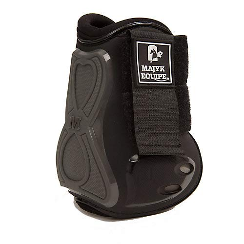 Majyk Infinity Open Front Hind Jump Boots Black
