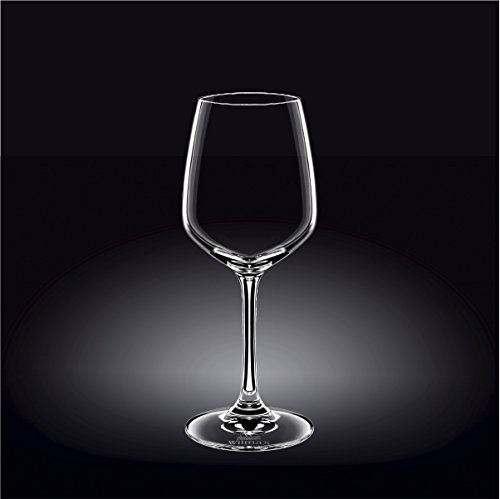 Wilmax 888018 380 ml Wine Glass Set of 644; Pack of 8 by Wilmax